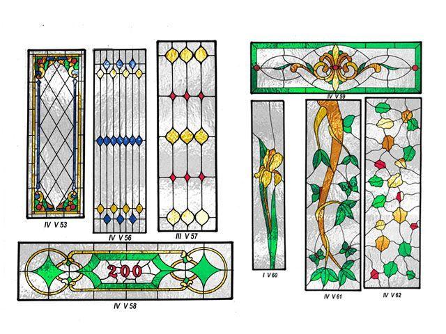 Galería de Vidrio Decorado Para Puertas Y Ventanas