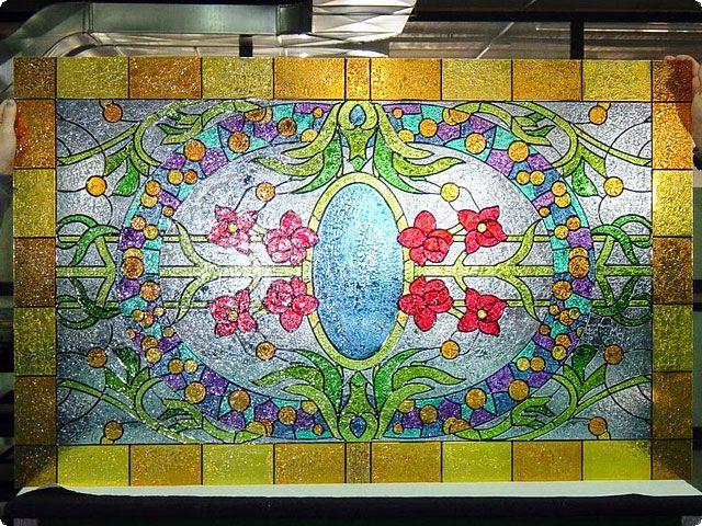Galería de Vidrio Decorativo Personalizado